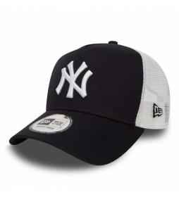 Gorra Trucker New York Yankees Clean A-Frame marino