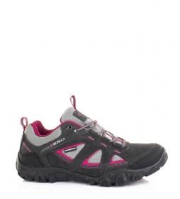 Nicoboco Leather shoes Korimor grey, fuchsia / Cimatech