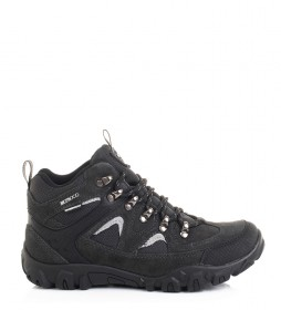 Nicoboco Krumar black leather boots / Cimatech