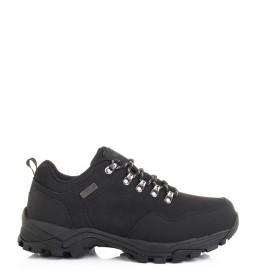 Nicoboco Tesco black leather shoes / Cimatech