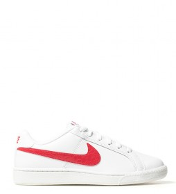 Nike Chaussures Court Royale blanc, rouge