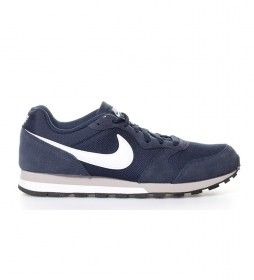 Nike Sneakers MD Runner 2 blu scuro
