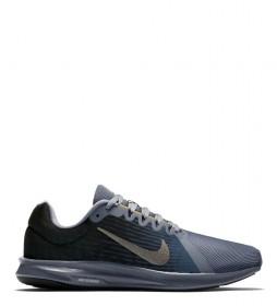 Nike Chaussures de course Downshifter 8 gris bleu
