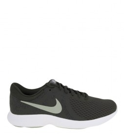 Nike Zapatillas running Revolution 4 gris verde