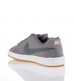 Detalles de Nike Zapatillas Court Royale coral Mujerchica Piel Sintético Plano Cordones