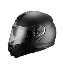Nzi Casco modular Combi Duo Graphics Matt Black negro mate