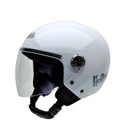 Nzi Casque Jet Helix IV Blanc