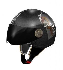 Nzi NZI 3D Vintage II R66 Snappy Helmet