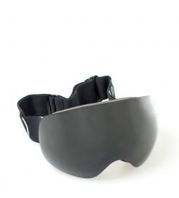Ocean Sunglasses Black Arlberg snow glasses with smoke glass
