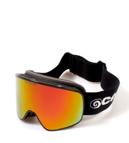 Ocean Sunglasses Black Aspen snow glasses with revo glass