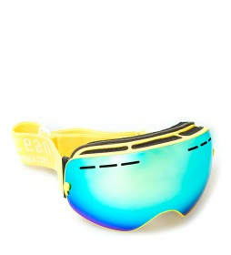 Ocean Sunglasses Snow goggles Matterhorn yellow, yellow mirror effect