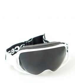 Ocean Sunglasses Lost white snow glasses with smoke glass