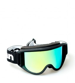 Ocean Sunglasses Snow goggles Mammonth black with golden crystal revo