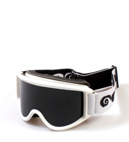 Ocean Sunglasses Snow goggles Mammoth white with smoke glass