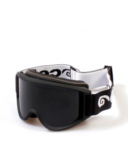 Ocean Sunglasses Snow goggles Mammoth matt black with smoke glass