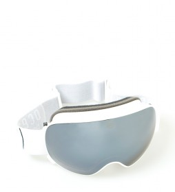 Ocean Sunglasses Mckinley white snow glasses with smoke glass