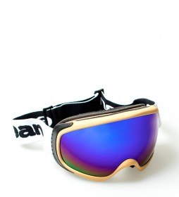 Ocean Sunglasses Snow goggles Mckinley cream with blue crystal revo