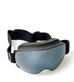Ocean Sunglasses Mckinley snow goggles black with gray revo glass