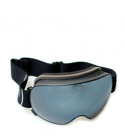 Ocean Sunglasses Mckinley snow glasses black with black smoke glass