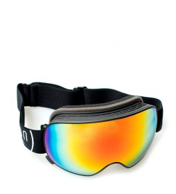 Ocean Sunglasses Mckinley snow goggles black with red revo glass