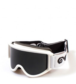 Ocean Sunglasses Snowbird Snow White, black with smoke glass