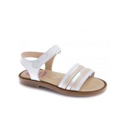 Sandalias de piel Celia 479900 blanco
