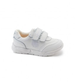 Zapatillas de piel Xemit blanco