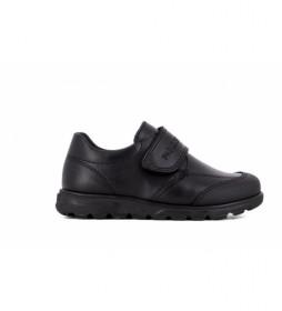 Zapatos de piel 334510 negro