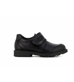 Zapatos de piel 715410 negro