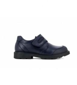 Zapatos de piel  715420 azul marino