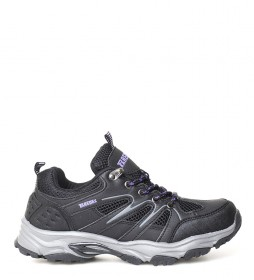 Paredes Trekking shoes Elena black, lime