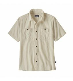 Camisa Men's Back Step Shirt beige