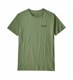 Patagonia T-shirt Stand Up green