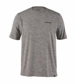 Patagonia Camiseta Cap Cool Daily Graphic gris, P-6 logo / 128g / UPF 50+ / Polygiene / MiDori
