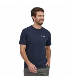 Camiseta Men's Fitz Roy Horizons Responsibili-Tee marino