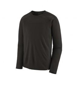 Patagonia Camiseta M's Cap MW Crew negro -176g-