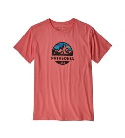 Patagonia M's Fitz Roy Scope Organic coral t-shirt / 187g