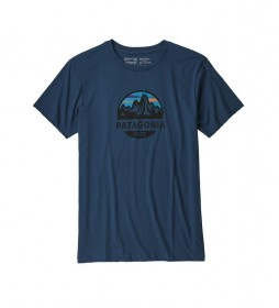 Patagonia Camiseta M's Fitz Roy Scope Organic marino / 187g