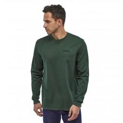 Patagonia Camiseta M's P-6 Logo Responsibili verde