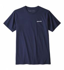 Patagonia T-Shirt P-6 Organic Marine Logo / 187g