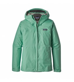 Patagonia Waterproof jacket Torrentshell green / 301g / H2No