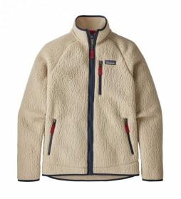 Patagonia Jacket Retro Pile beige / 680g