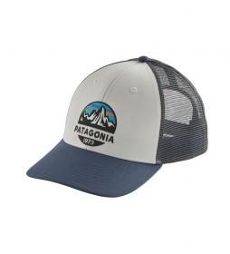 Patagonia Fitz Roy Scope LoPro Trucker Cap blue, white / 85g
