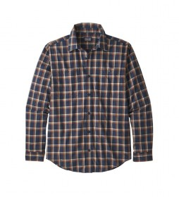 Patagonia Camisa M's L/S Pima Cotton marino