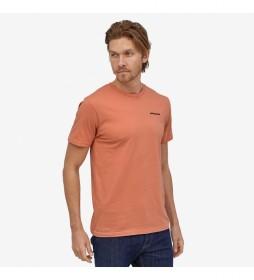 Camiseta Men's P-6 Logo Organic naranja
