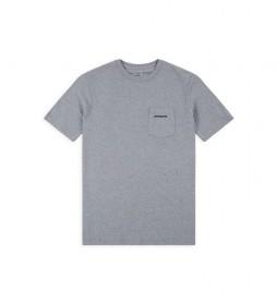 Camiseta Men's P-6 Logo Pocket Responsibili-Tee gris