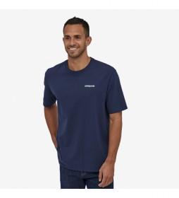 Camiseta Men's P-6 Logo Responsibili-Tee marino