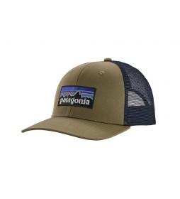 Patagonia Cap P-6 Logo Trucker khaki