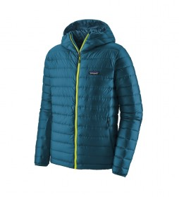 Patagonia Plumón M's Down Sweater Hoody azul