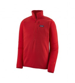 Patagonia Pullover M's R1 P/O rojo